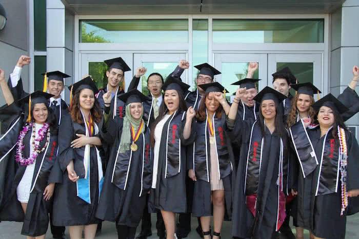 Black graduation stoles mesa