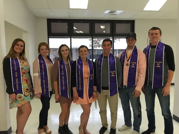 High school graduation stoles