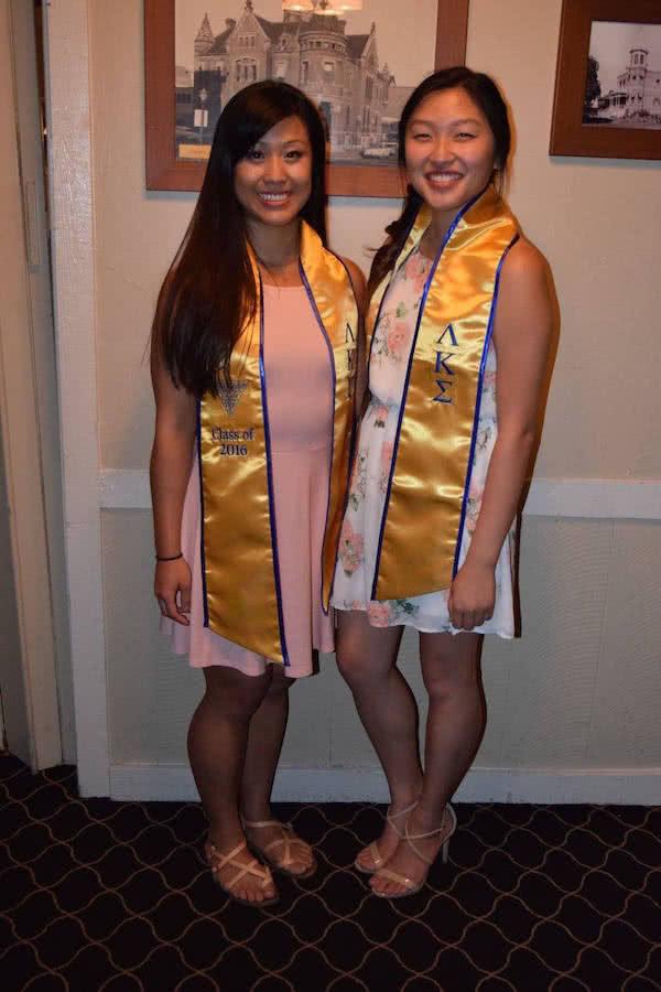 Lambda kappa sigma graduation sashes
