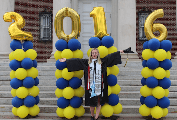 Silver graduation sashes yoursash 2016