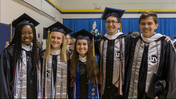 Silver graduation stoles yoursash 2016