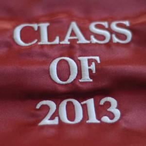 Graduation Stoles Class of 2013